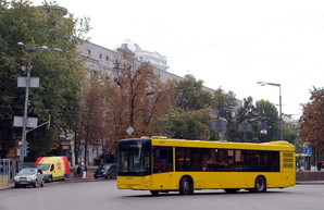 Киевские маршрутки постепенно ликвидируют