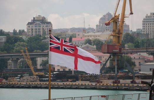 Одесский порт посетила посол Великобритании