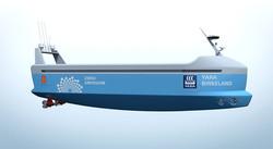 В 2018 году планируется запуск первого в мире электроконтейнеровоза без экипажа (ФОТО)