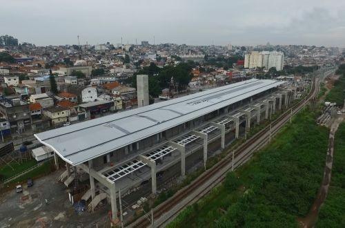 В бразильском Сан-Паулу строят железную дорогу в аэропорт