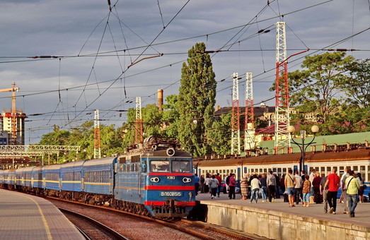 Назначен дополнительный поезд в Одессу из Киева