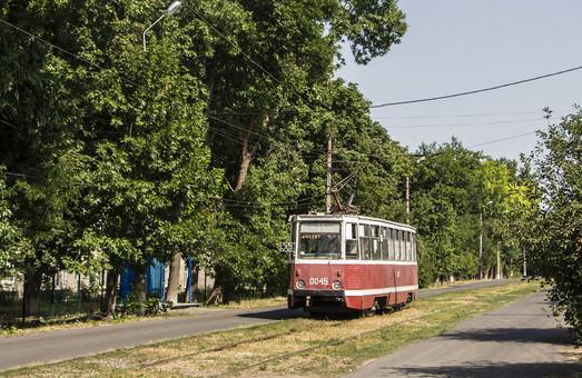 Во временной столице Донецкой области закрыли трамвай