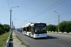 В Днепре открыли первый маршрут троллейбуса с автономным ходом (ФОТО)