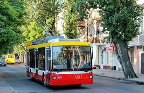 В Одессе восстановили работу кондиционеров уже на шести троллейбусах