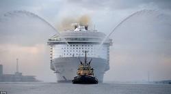Житель Одесской области принимал участие в строительстве крупнейшего в мире пассажирского лайнера (ФОТО)