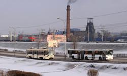 Фото дня: индустриальный электротранспорт в объективе Максима Горбатюка
