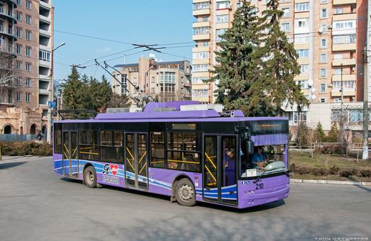 В Кременчуге начинают строить новые линии троллейбуса в правобережной части города
