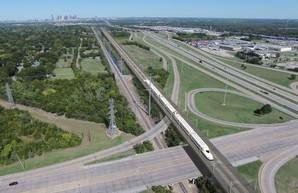В американском Техасе хотят строить скоростную железную дорогу между Хьюстоном и Далласом