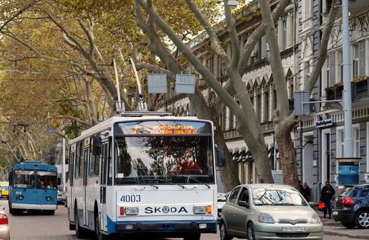 7-й маршрут троллейбуса вернулся в центр Одессы