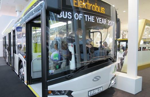 В Таллине начались испытания электробуса Solaris