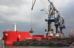 В порту Южный под Одессой разгрузили балкер с углем для электростанций