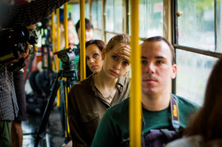Одесский трамвай в Люстдорфе отмечает 110-летний юбилей (ФОТО)