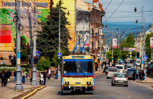Черновцы закупают новые троллейбусы на 33 миллиона