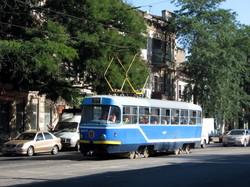 Одесские трамваи на Молдаванке: фото дня