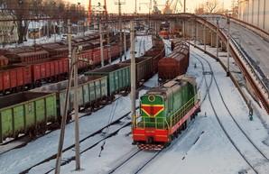 В порту под Одессой железная дорога не справляется с количеством грузовых поездов