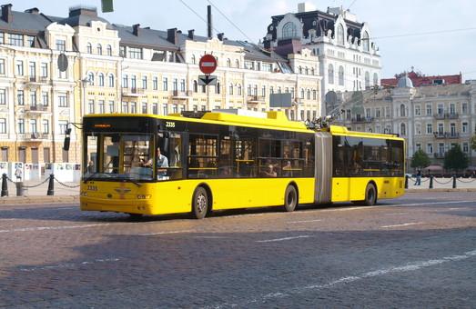 Определился победитель в тендере на строительство линии троллейбуса в Киеве на Печерске