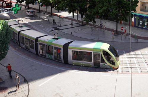 На острове Маврикий строят линию скоростного трамвая