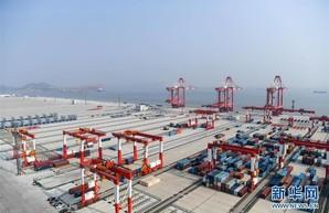 В Китае в этом году запустят автоматический роботизированный порт