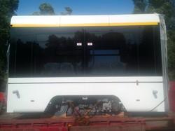 Разработанный одесской компанией трехсекционный трамвай начинает испытания (ФОТО)