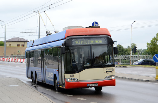 "Вильнюс закупает троллейбусы ""Солярис"""