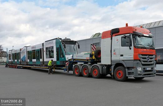 Трамваи немецкого Потсдама удлиняют с 5 до 7 секций