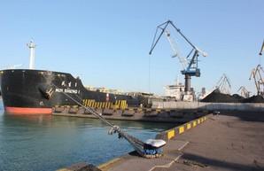 В порту Южный под Одессой снова разгружают американский уголь