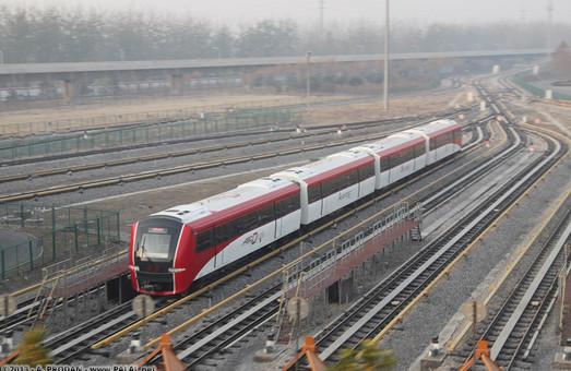 В китайской столице тестируют скоростные трамваи и метро без машинистов