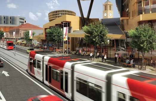 В английском Ньюкастле скоростной трамвай строят за 220 миллионов долларов