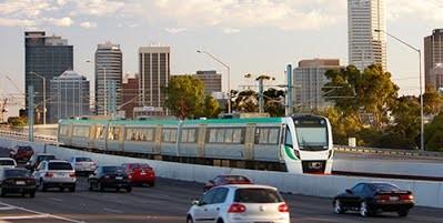 На строительствоновой сети общественного рельсового транспорта в Западной Австралии выделен миллиард долларов
