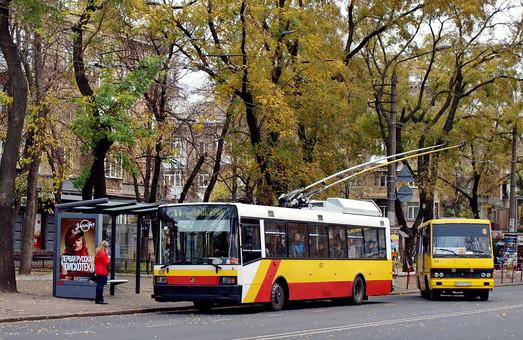 Из-за спортивных соревнований на выходных меняются маршруты одесского городского транспорта