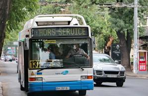 Опубликован график работы низкопольных автобусов в Одессе на октябрь