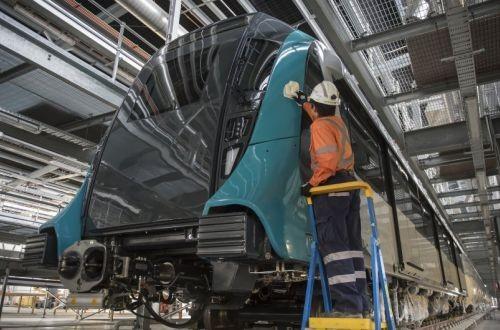 Для новой линии метро Сиднея уже строятся метропоезда