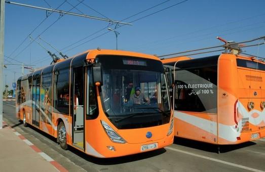 В одном из крупнейших городов Марокко открыли троллейбус