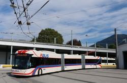 Фото дня: как в Зальцбурге испытывают трехсекционные троллейбусы