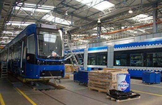 Новые трамваи для Киева уже строят на заводе PESA в Польше