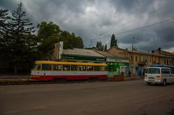 Одесские трамваи снова ходят от Пересыпского моста на поселок Котовского (ФОТО)
