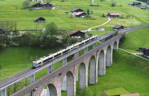 Швейцария инвестирует в инфраструктуру железных дорог почти 12 миллиардов долларов