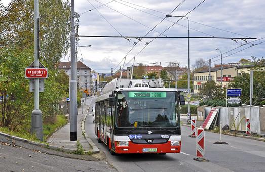 В столице Чехии начались испытания троллейбуса
