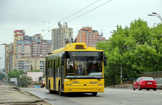 В Киеве запускают новый маршрут троллейбуса по рекомендации экспертов Мирового банка
