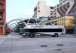 Американский Дейтон закупает самые дорогие в мире троллейбусы
