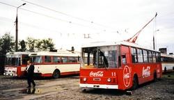 Батумі. Тролейбусне депо. 2002 рік...