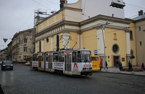 Во Львове может появиться участок линии трамвая с левосторонним движением