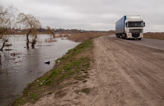 В Одесской области растут объемы грузоперевозок автомобильным транспортом
