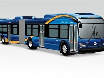 В Нью-Йорке закупают 180 городских автобусов