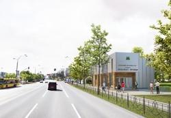 Киевские архитекторы показали как будут выглядеть станцииметро на Виноградаре