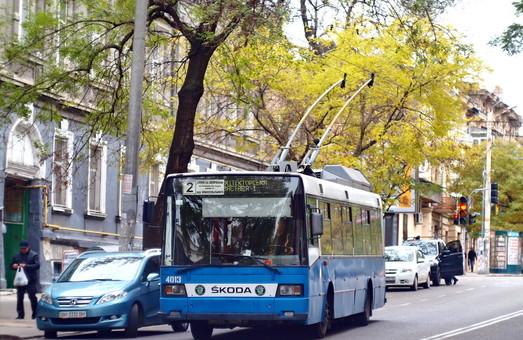 В Одессе возобновили работу двух маршрутов троллейбуса