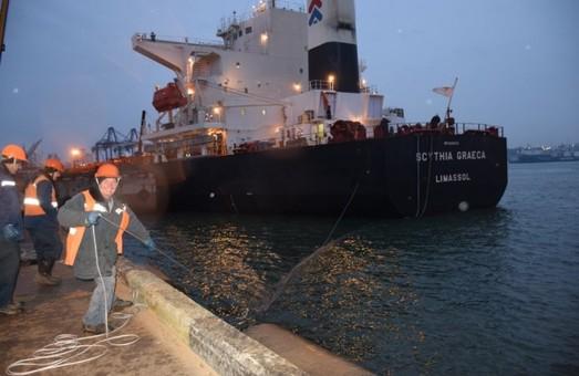 Уголь для украинских электростанций теперь везут через порт Черноморск