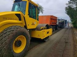 Как осенью ремонтируют трассу Одесса - Рени