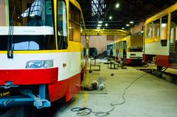 В Одессе собрали очередной новый трамвай (ФОТО)
