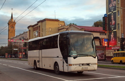 Запорожье смогло купить в лизинг автобусы